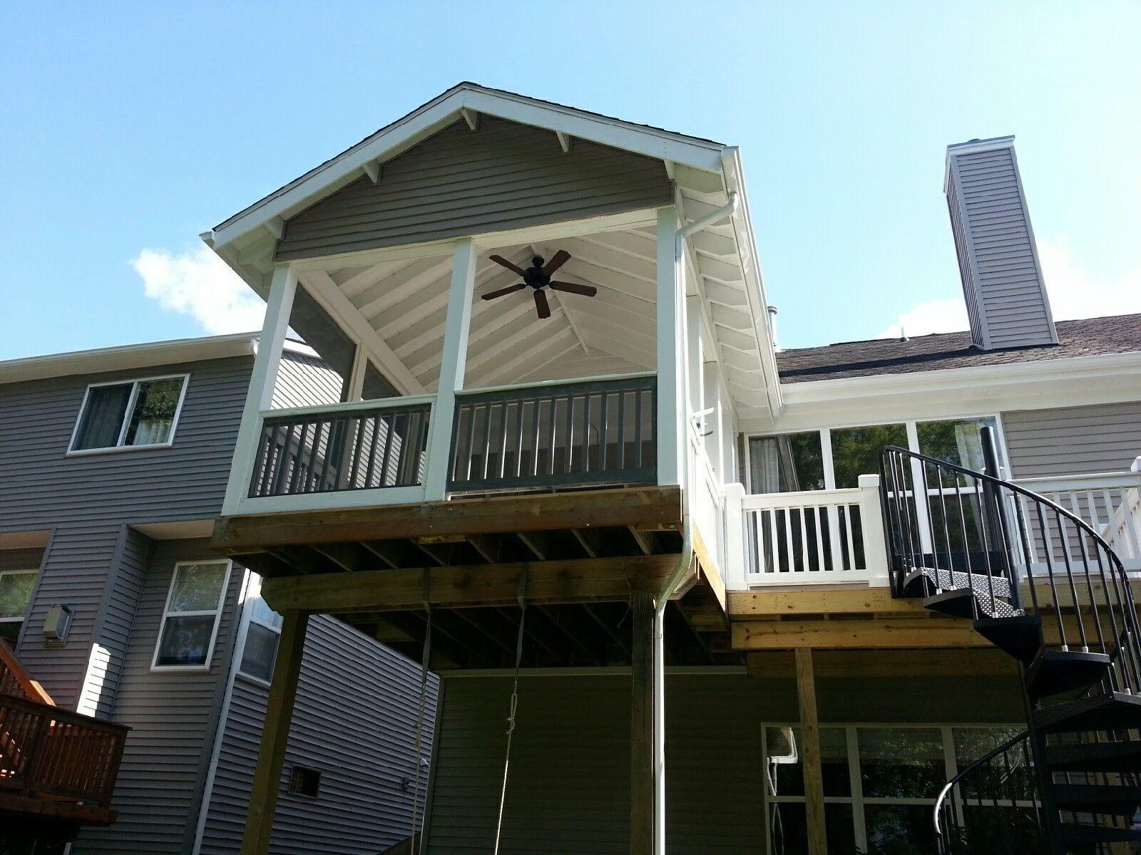Decks-Cedar, Azek, Treated Etc. - Picture 7867