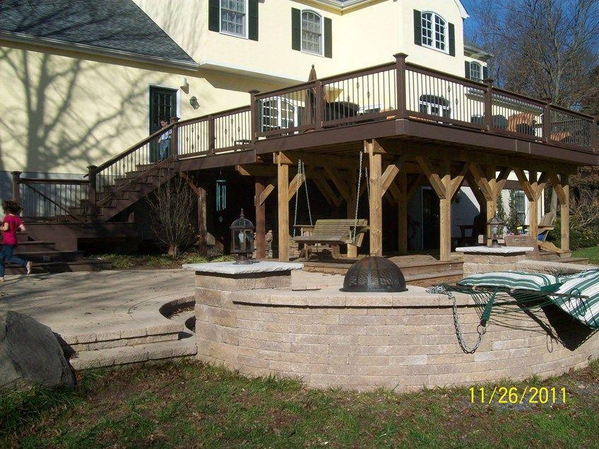 Deck under Deck - Picture 1245