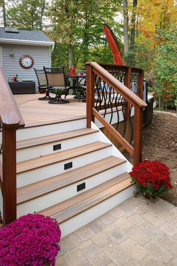 Davidson curved deck - Picture 1432