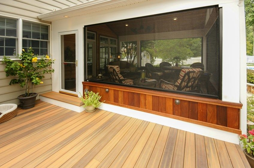 Davidsonville Porch - Picture 1526