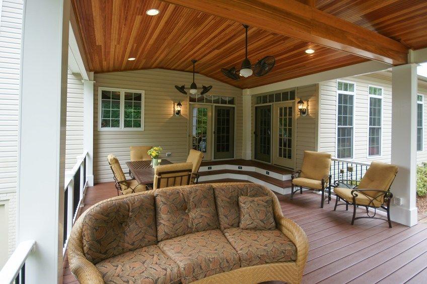Hughesville deck - Picture 1605