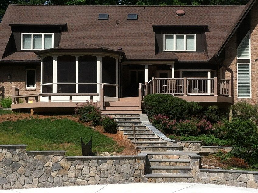 Deck and Screen Porch - Picture 2052