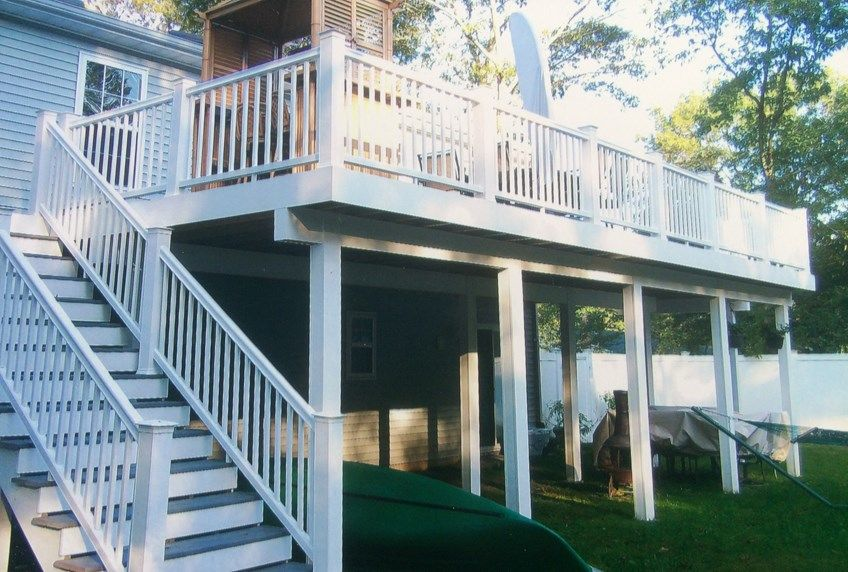 Medford Second Story Deck - Picture 3178