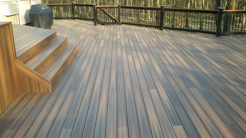 Custom deck in Florham Park N.J. - Picture 3238