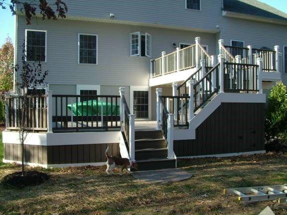 Custom Deck in Howell N.J. - Picture 3322