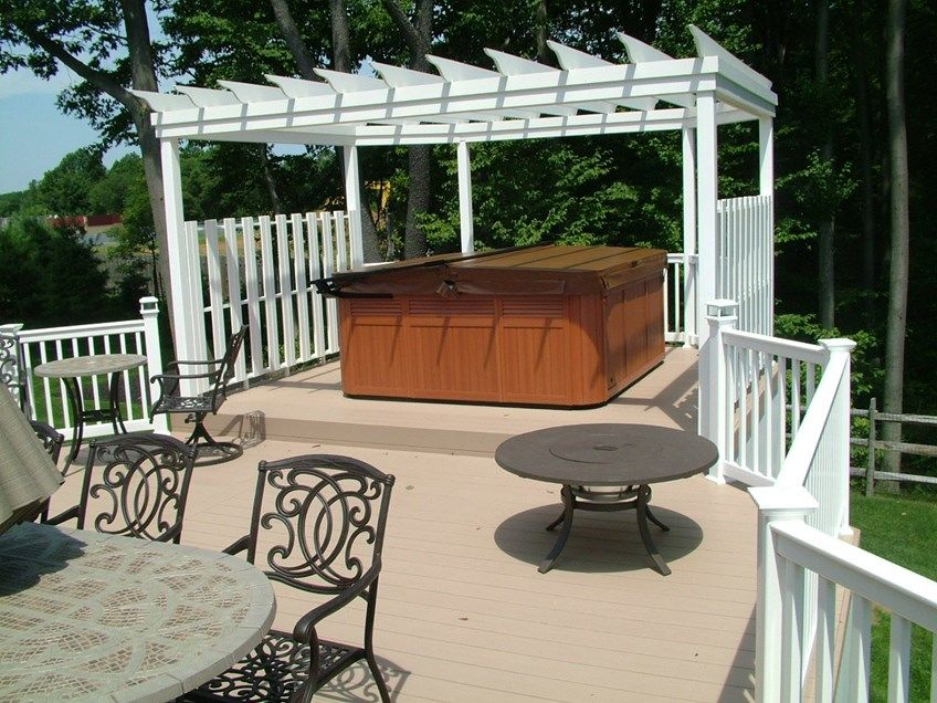 Decks Com Custom Deck In Monroe Nj Picture 3348
