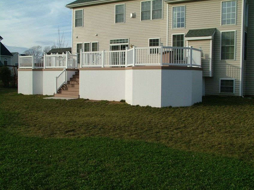 Custom Deck in Morganville N.J. - Picture 3357
