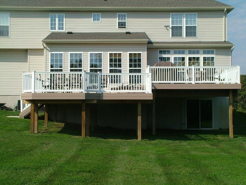 Custom Deck in Cream Ridge NJ - Picture 3363