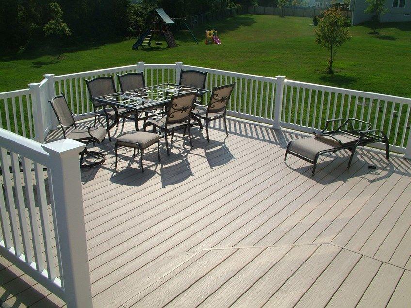 Custom Deck in Cream Ridge NJ - Picture 3366