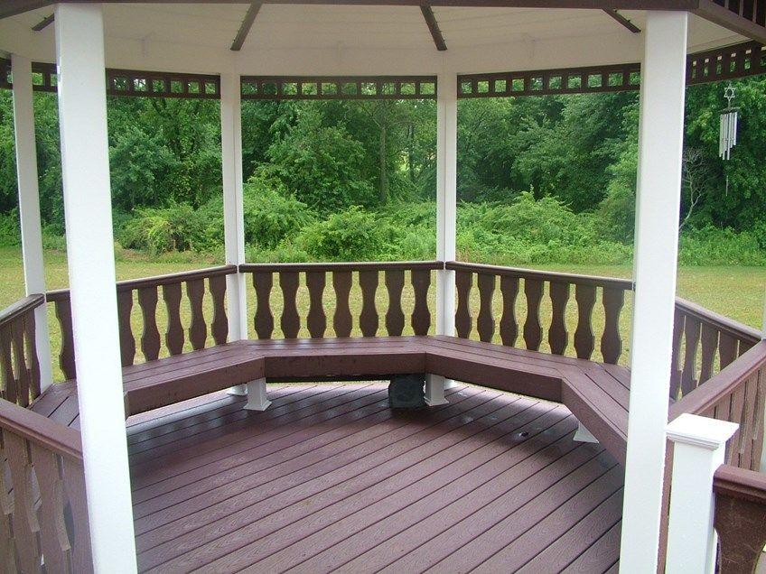Custom Gazebo deck in Millstone NJ - Picture 3425
