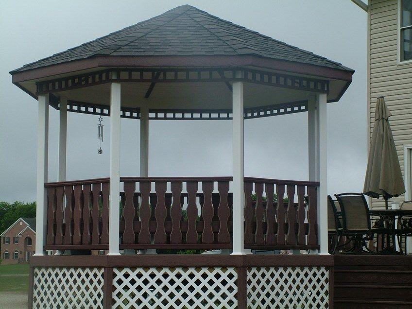 Custom Gazebo deck in Millstone NJ - Picture 3426