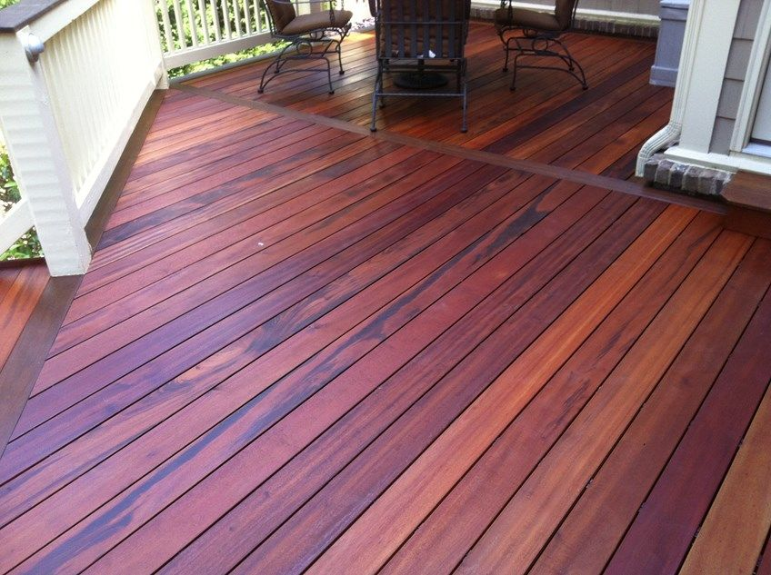 The look of tiger wood decking - Picture 3477