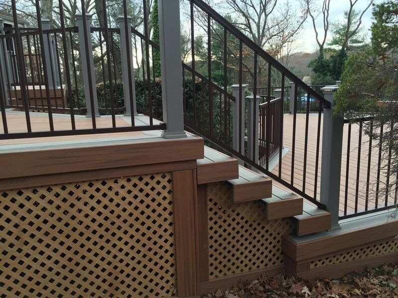 Deck in Dix Hills, NY - Picture 3481