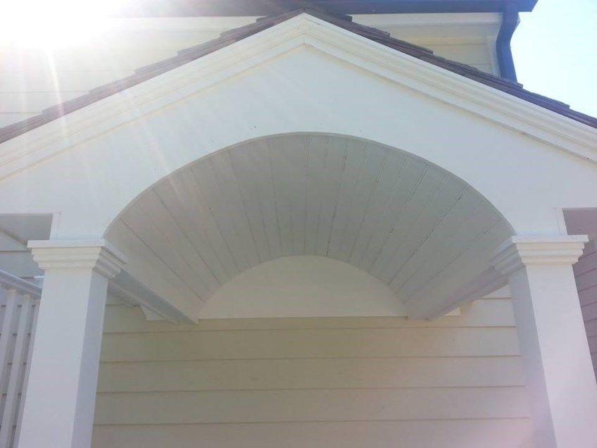 Deck & Portico in Darien - Picture 3809