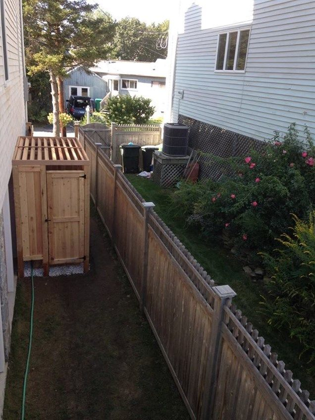 Cool Outdoor Shower - Picture 3886