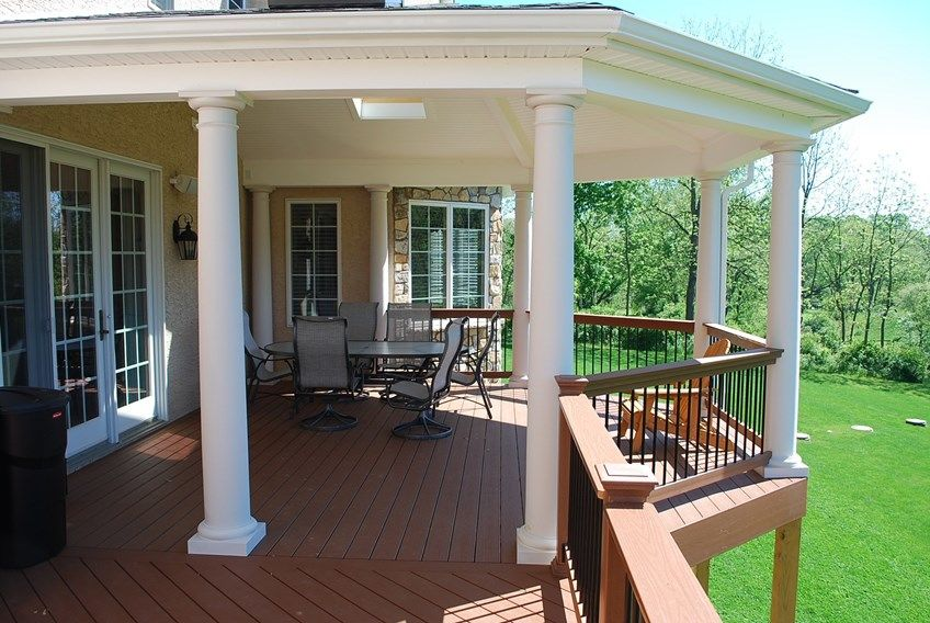 Deck and Open Porch - Picture 3895