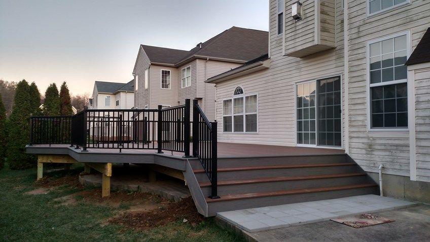 Composite Decks With Metal/Composite Railings - Picture 6442