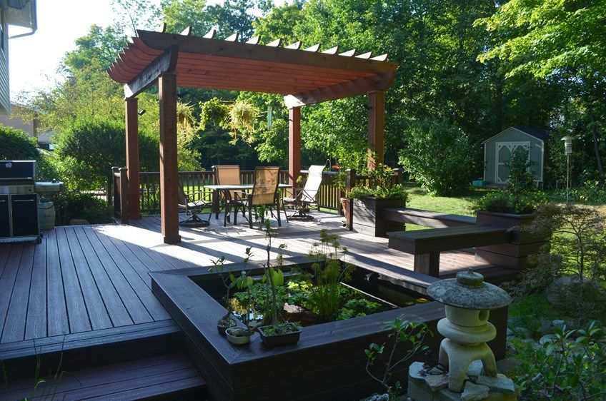 Japanese garden deck picture 6879 for Garden decking companies
