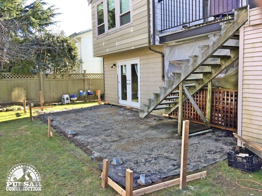 Ground Level Deck & Pergola - Picture 7059