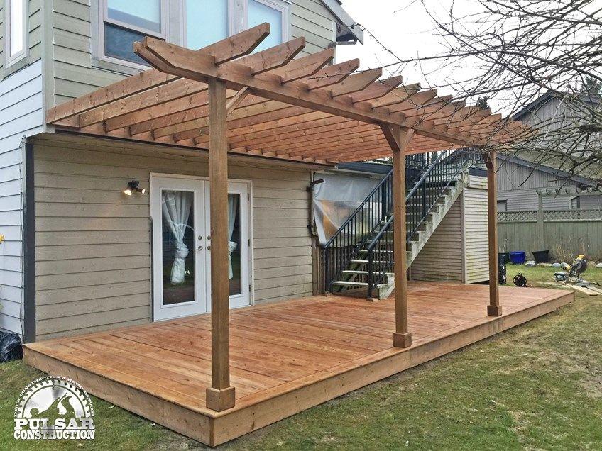 Ground Level Deck & Pergola - Picture 7062
