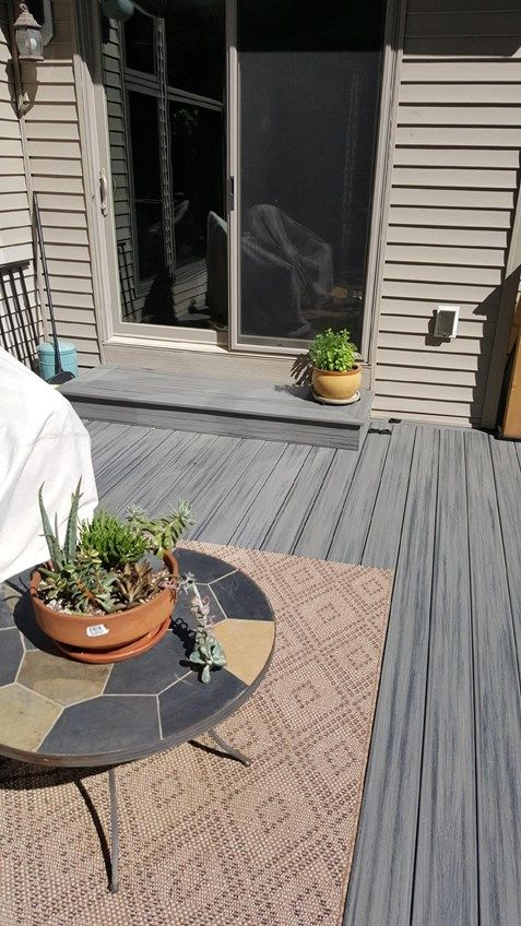 Inver Grove Heights MN Trex Deck - Picture 7283