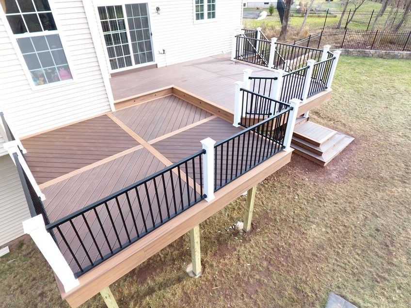 2 Level Deck, Custom Floor Pattern - Picture 7507