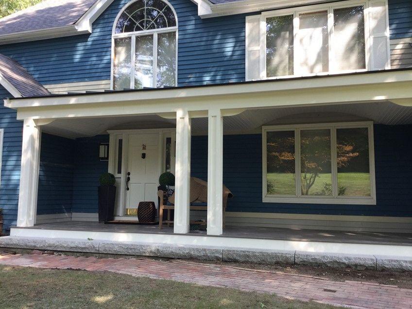 Ellipse Shaped Front Porch - Picture 7765