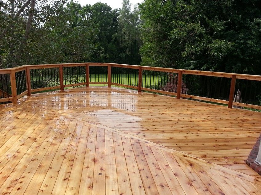 Decks-Cedar, Azek, Treated Etc. - Picture 7873