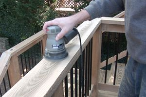 How to Sand a Wood Deck