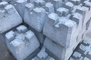 Concrete Pier Blocks for Decks
