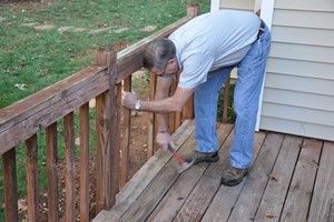 How to Fix Loose Deck Railing