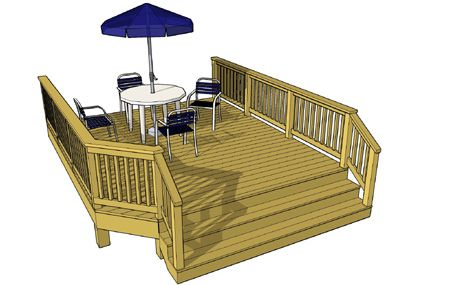 Free plans for 10 x 8 deck plans