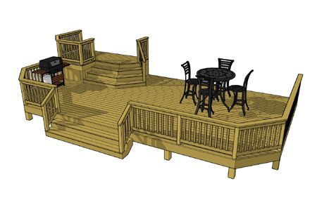 Free Deck Plans Deck Designs Deckscom