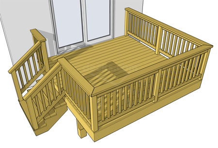 Free plans pool decks porch decks low elevation decks medium elevation decks for Free online deck design
