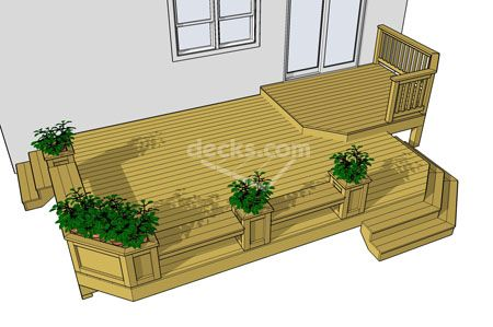 for 12x16 deck plans